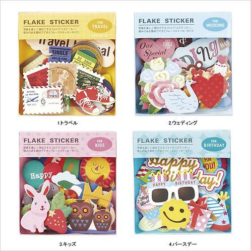 日本Mark's Paper Flake Stickers
