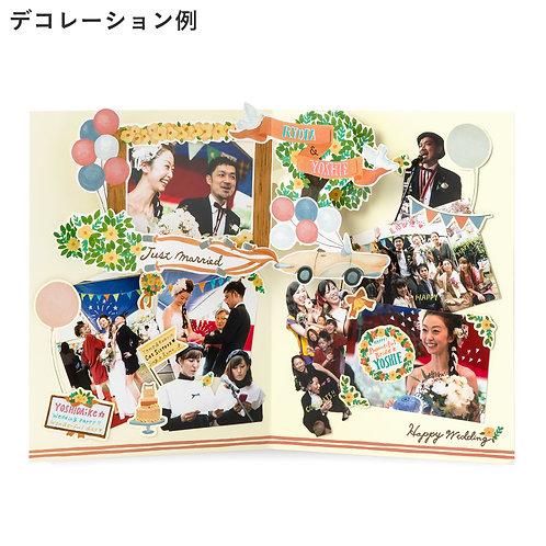 日本Iroha Photoboard 相片卡 (Garden Wedding)