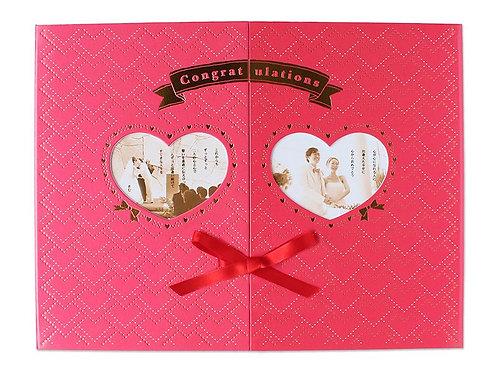 日本Kim Company 喜慶祝賀相片卡 - Heart