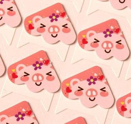 Little Pink Piggy Photo Corner 相角 (24枚入)