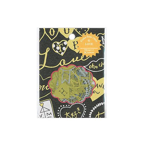 Z&K Japan -  Paper Flake - Love (紙藝裝飾)