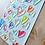 Thumbnail: 韓國 FUNNY Heart Candy 水晶貼紙