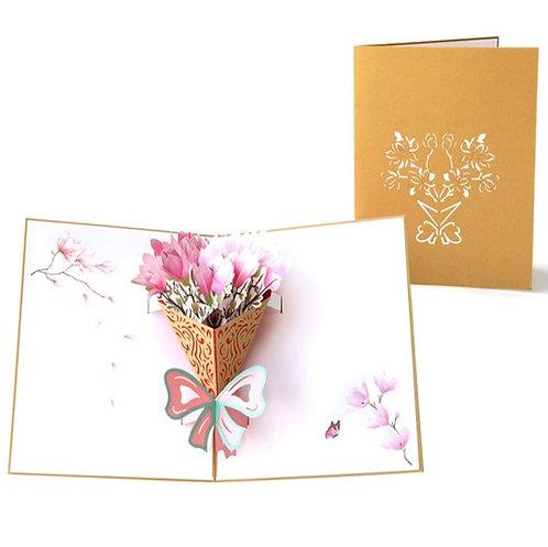 花語 Sweet Bouquets 3D立體卡
