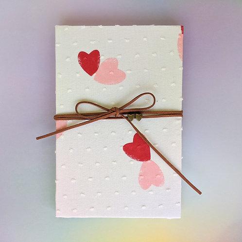 手工和風布藝相簿 - 心心相印 In my heart (外帶生日主題材料包)
