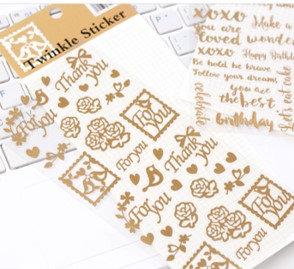 Sweet Bird - Twinkle Sticker 貼紙