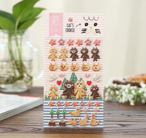 Sonia's Cats Cookies 曲奇貓 Stickers
