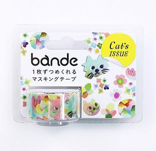 日本Bande 奇妙喵 Cats 和紙膠帶MT