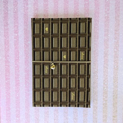 手工和風布藝相簿 - 朱古力塊 Choco Love (外帶生日主題材料包)
