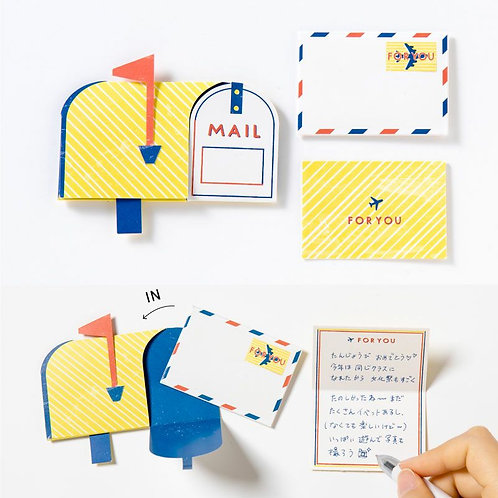 日本Iroha Toy Album Pop-up -Post & Letter