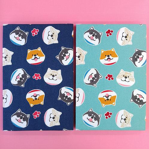 手工和風布藝相簿 - QQ柴犬 Lovely Shibanban (外帶生日主題材料包)