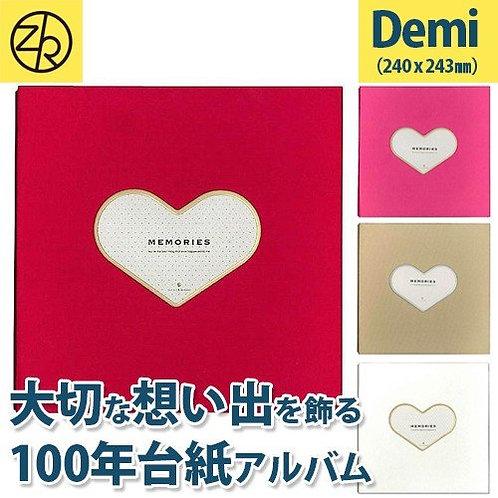 Z&K Japan - 心型相框布藝相簿 Heart Frame Album