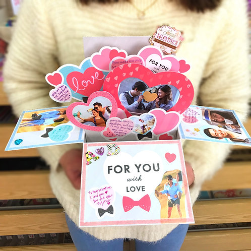 Aiueo - Popup Card Box 相片卡禮盒 (For You with Love)