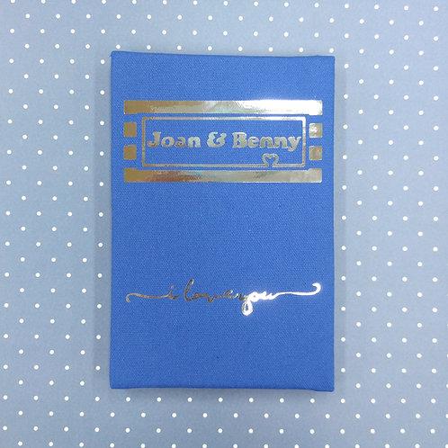 Book of Love 愛の紀念冊 - 燙金麻布相簿 - DIY相簿放題
