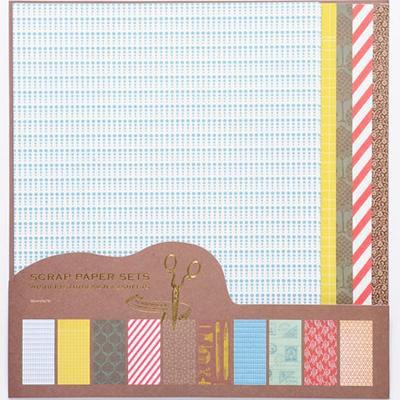 日本 Scrapaholic Paper Sets 24cm x 19cm 卡紙本 PPS2-A