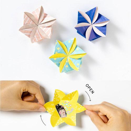 日本Iroha Toy Album Pop-up -Urukuru Flower