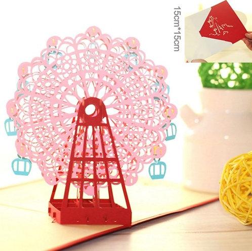 幸福摩天輪 Ferris Wheel 3D立體卡