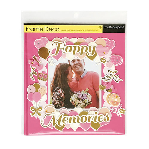 Z&K Japan - 節日主題裝飾框 Special Day Deco Frame (Happy Memories)
