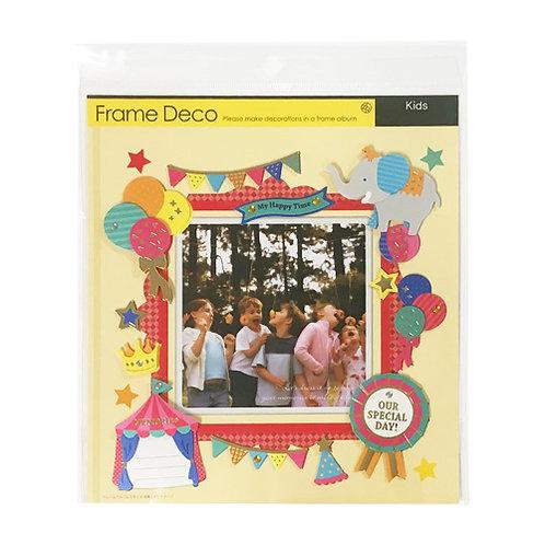 Z&K Japan - 派對主題裝飾框 Party Time Deco Frame