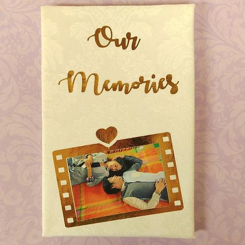 Happy Mother's Day (母親節特別版) - 燙金麻布相簿 (回憶紀念相簿材料包)