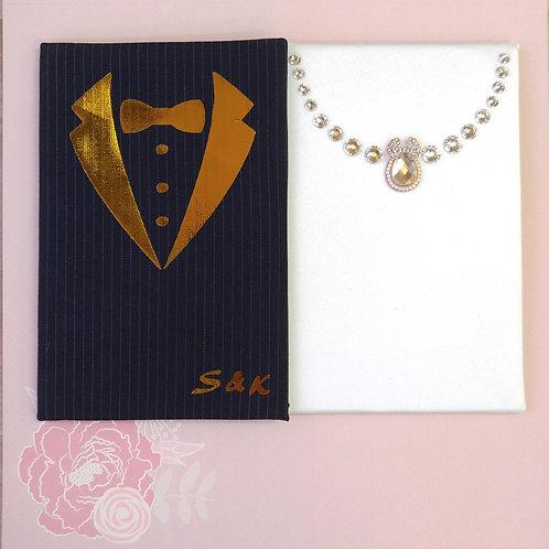 禮服婚紗特別版 Wedding Special - 個人化燙金相簿 (單買相簿)