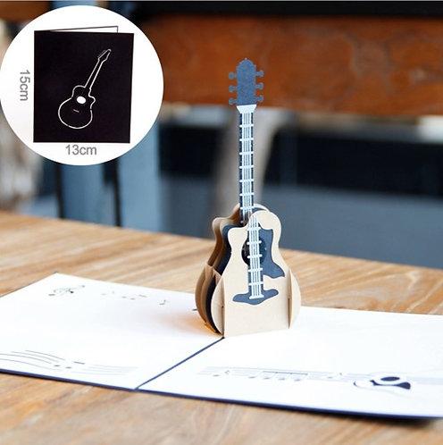 結他和弦 Guitar Harmony 3D立體卡