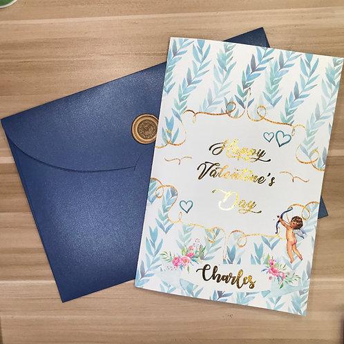 個人化封面 燙金卡 + 禮物信封 (單買)