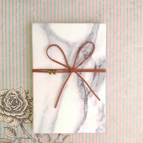 手工和風布藝相簿 - 雲石布相簿 Marble Art (情人節特別版2021相簿材料包)