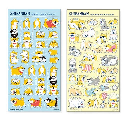 MindWave Shibanban 柴犬貼紙