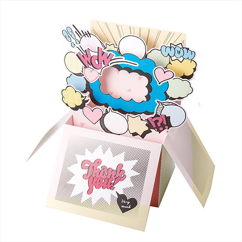 Aiueo - Popup Card Box 相片卡禮盒 (Thank You very much)