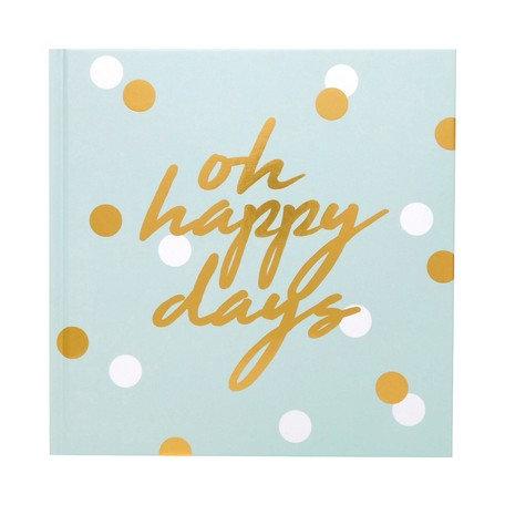 日本Chic square album 方形相簿 - Oh happy days