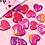Thumbnail: Balloon Seal Flake (Heart) 汽球泡泡貼 (36枚)