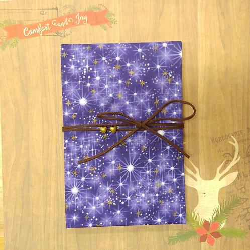 手工和風布藝相簿 - 魔幻聖誕 (外帶聖誕主題材料包)