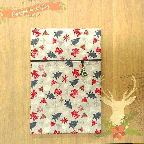 手工和風布藝相簿 - 聖誕樹下 (外帶聖誕主題材料包)