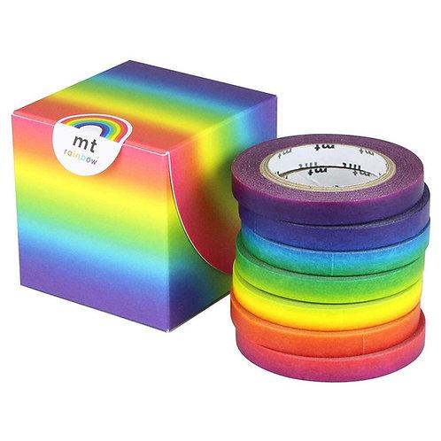 日本masking tape 彩虹 Rainbow 和紙膠帶MT