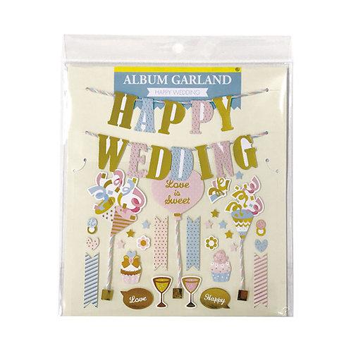 Z&K Japan - 婚禮主題裝飾 Wedding Decoration (Letter 字母旗)