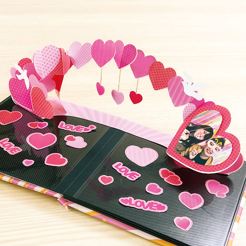 日本Iroha Album Pop-up - Heart arch