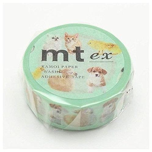 日本masking tape 寵物BB Baby Animal 和紙膠帶MT