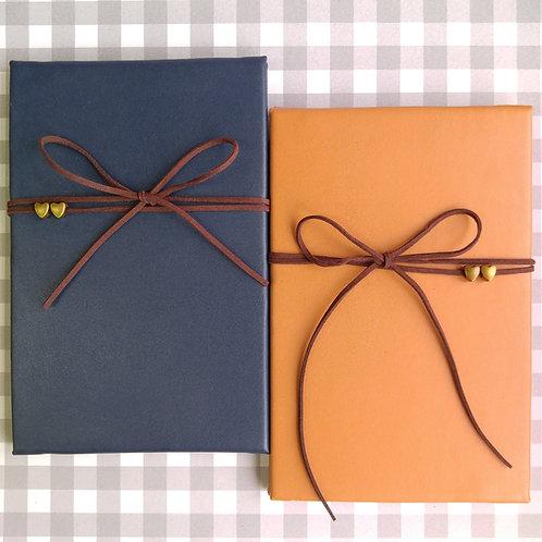 手工製仿皮相簿 (外帶生日主題材料包)