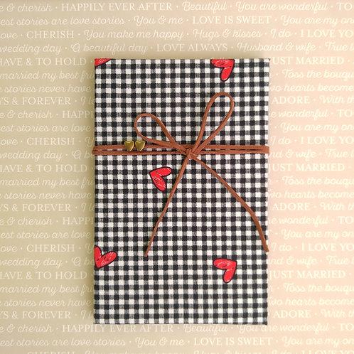 手工和風布藝相簿 - 心意格格 Love Grid (回憶紀念相簿材料包)