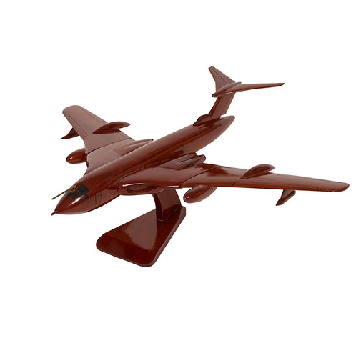 Mahogany Handley Page Victor Wooden Model
