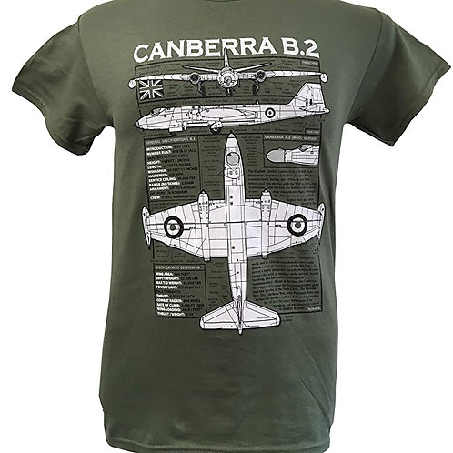 English Electric Canberra T shirt