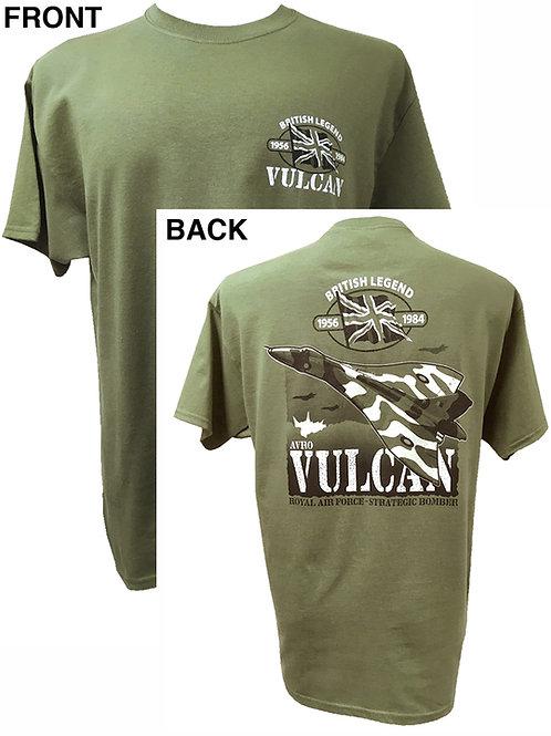 Avro Vulcan Action T shirt