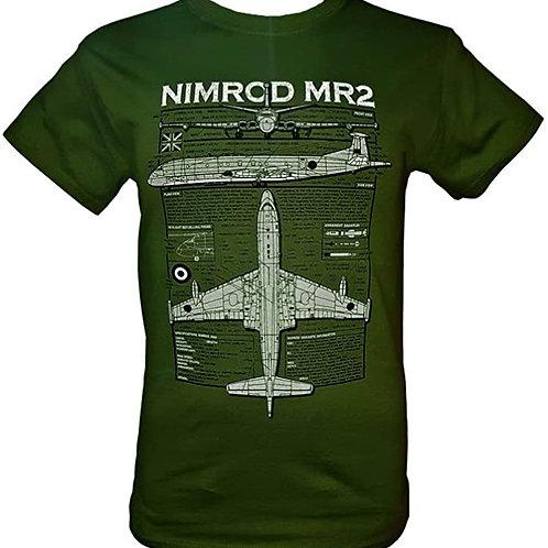 Hawker Siddeley Nimrod T shirt