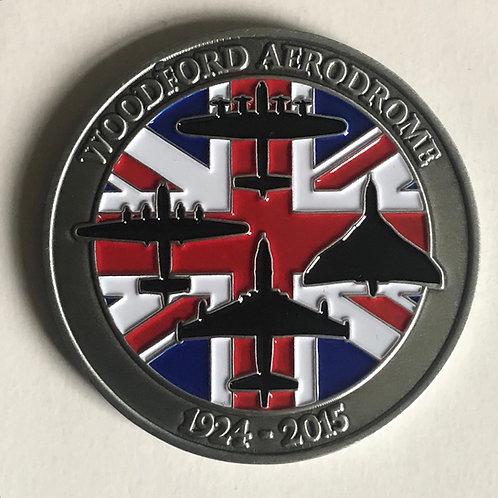 Woodford Aerodrome 1924-2015 Coin