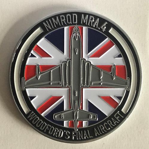 Hawker Siddeley Nimrod MR1/MRA4 Coin