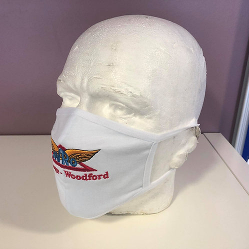 Avro Face Mask - White