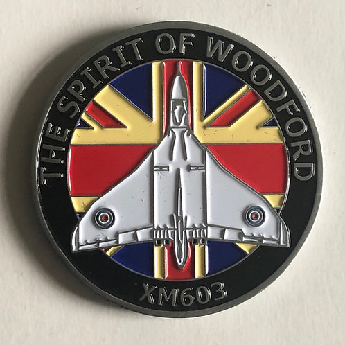 Avro Vulcan XM603 'Spirit of Woodford' Coin