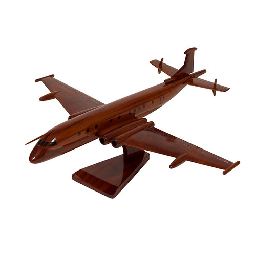 Mahogany Hawker Siddeley Nimrod MR2 Wooden Model
