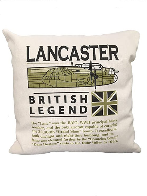 Avro Lancaster cushion