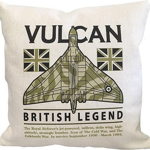 Avro Vulcan cushion